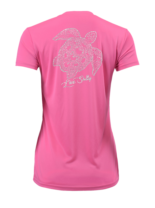 TURTLE FLEX-PINK-SHORT SLEEVE