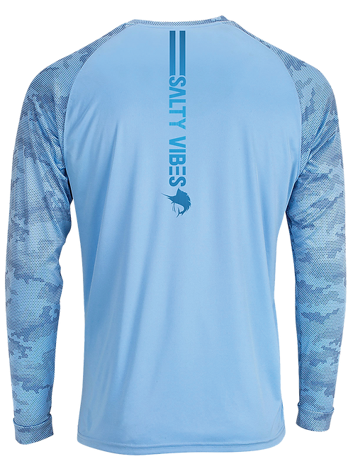CAMO SAILFISH-LONG SLEEVE