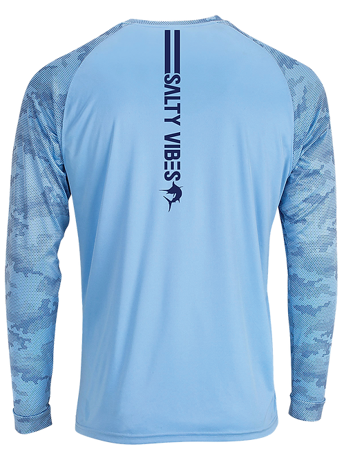 CAMO MARLIN-LONG SLEEVE