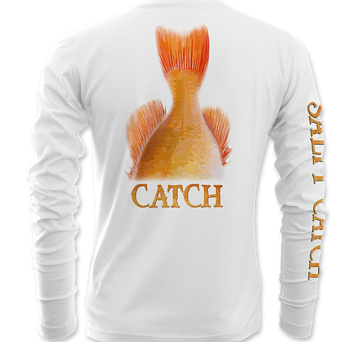 SALTY CATCH-RED FISH-PERFORMANCE LONG SLEEVE