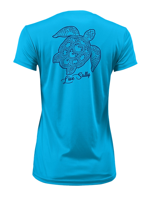 TURTLE FLEX-BLUE-SHORT SLEEVE