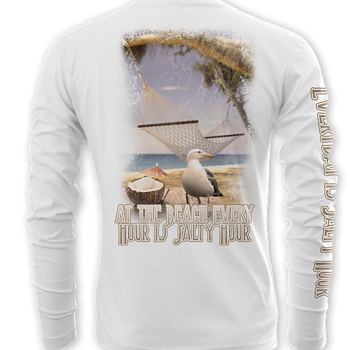 SALTY HOUR-PERFORMANCE LONG SLEEVE