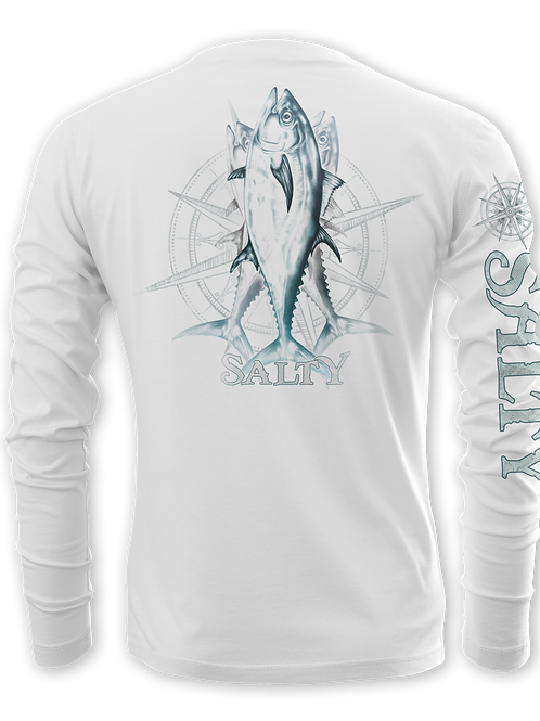 TUNA & COMPASS-PERFORMANCE LONG SLEEVE