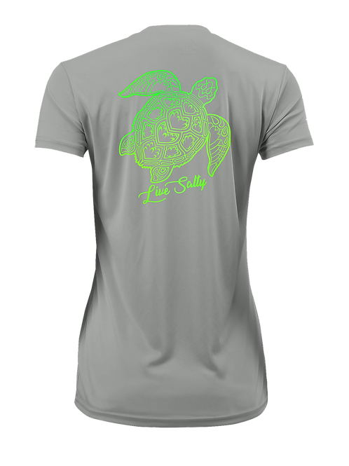 TURTLE FLEX-GRAY-SHORT SLEEVE