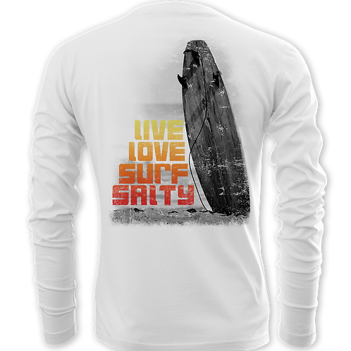 LIVE LOVE SURF SALTY-PERFORMANCE LONG SLEEVE