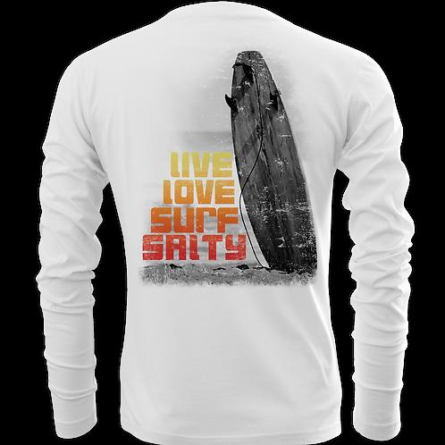 LIVE LOVE SURF SALTY-KIDS-PERFORMANCE LONG SLEEVE