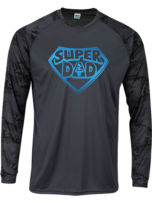 CAMO SUPER DAD-LONG SLEEVE