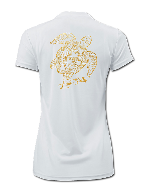 TURTLE FLEX-WHITE-SHORT SLEEVE