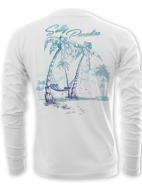 SALTY PARADISE-PERFORMANCE LONG SLEEVE