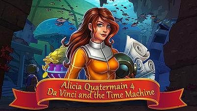 Alicia Quatermain 4: Da Vinci and the Time Machine