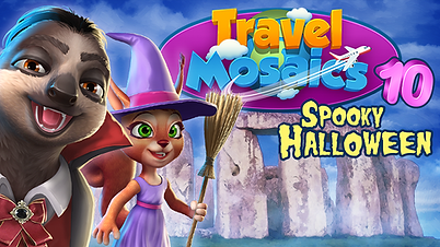 Travel Travel Mosaics 10: Spooky Haloween