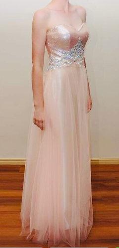 Blush Prom by Alexia Size 6-8