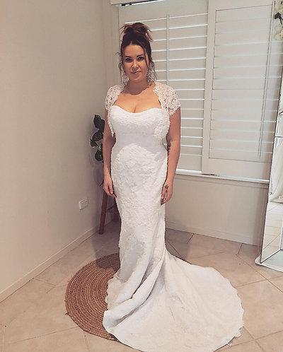 Demetrios Bridal Size 14