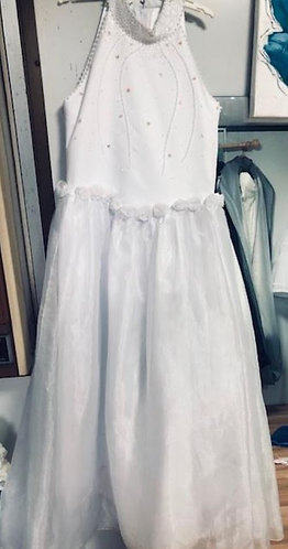 Flowergirl Gown Ivory Size 12