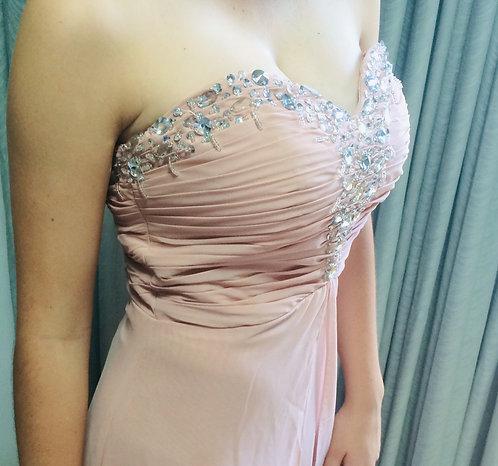 Custom Full length gown Size 8
