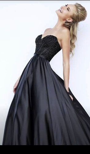 Sherri Hill Black Size 6-8