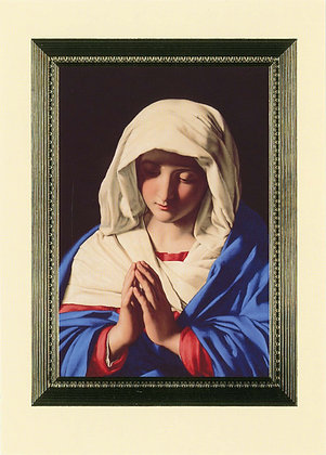 The Virgin in Prayer SY3