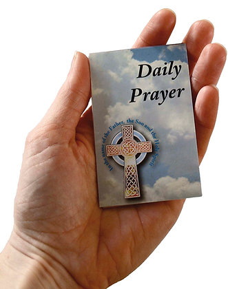 Fold out selection of Daily Prayers
