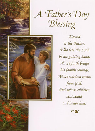 A Father's Day Blessing DO-018