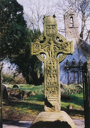 Saint Colmcille's Cross, Durrow, Co Offaly MC01A