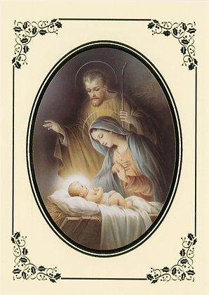 Christmas Greeting Card - With Novena CA-16A