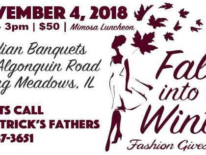 Fall into Winter, Fashion Gives Back!