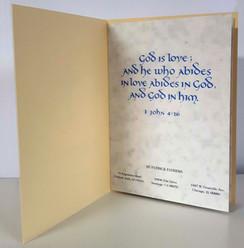 Inside Page - Prayer