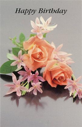 Happy Birthday - Roses HB1