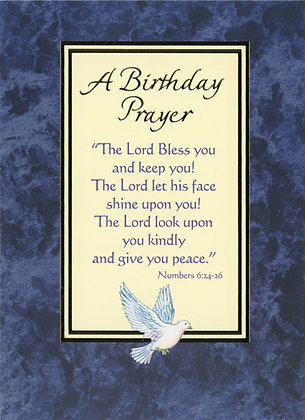 A Birthday Prayer HB1A