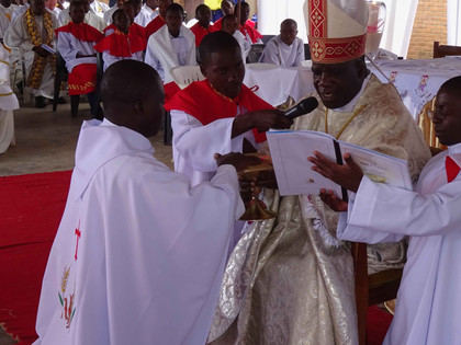 Ordination in Blantyre, Malawi