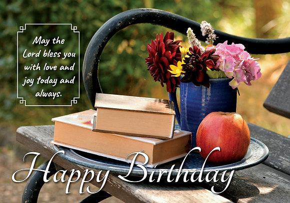 Happy Birthday Seat
