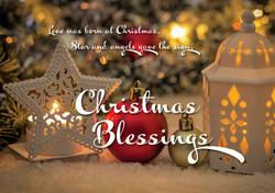 Christmas Blessings Lantern