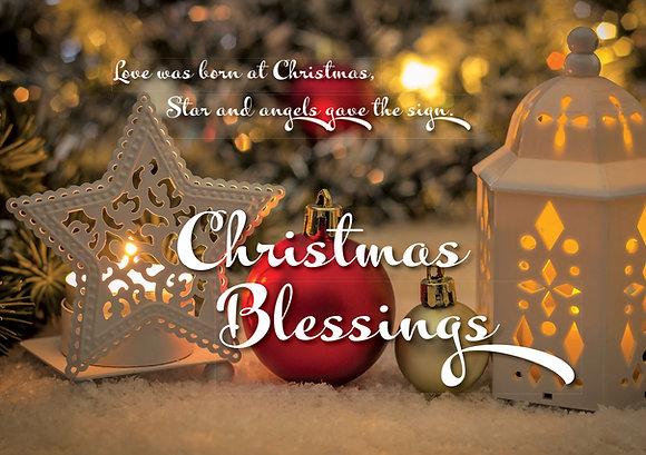 Christmas Blessings - Lantern