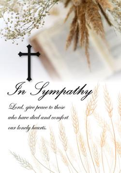 In Sympathy Bible Wheat