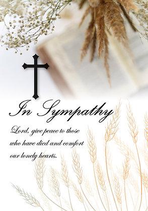 In Sympathy - Wheat & Bible