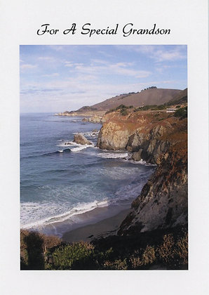 For A Special Grandson - Big Sur,CA, GS1