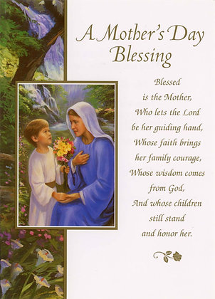 A Mother's Day Blessing DN-017