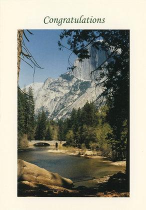 Congratulations - Half Dome, Yosemite, CA - CON1