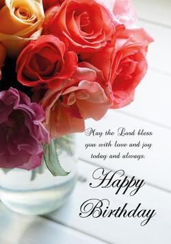 New! - Happy Birthday Roses