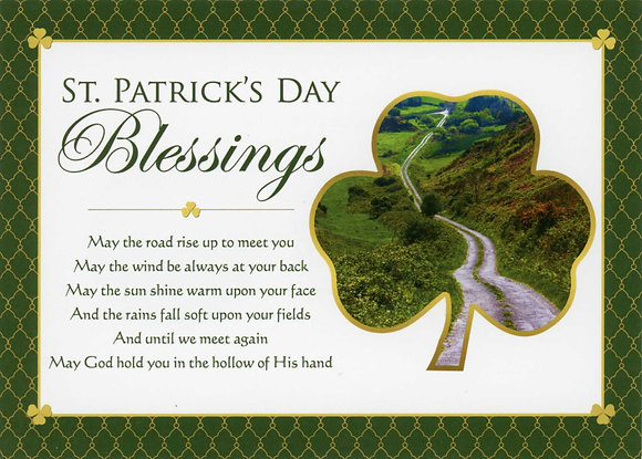 St Patrick's Day Blessings SP-17C