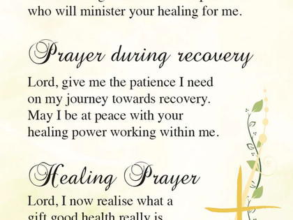 World Day of Prayer for the Sick