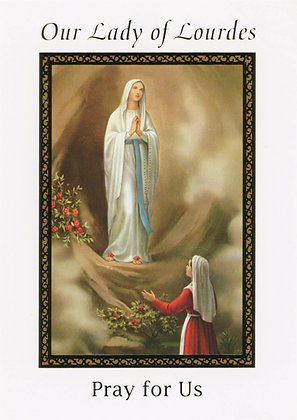 Our Lady of Lourdes, Pray for Us GW7