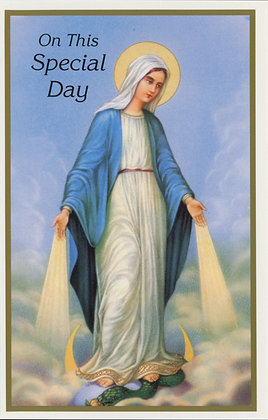 On this Special Day - Our Lady HB2