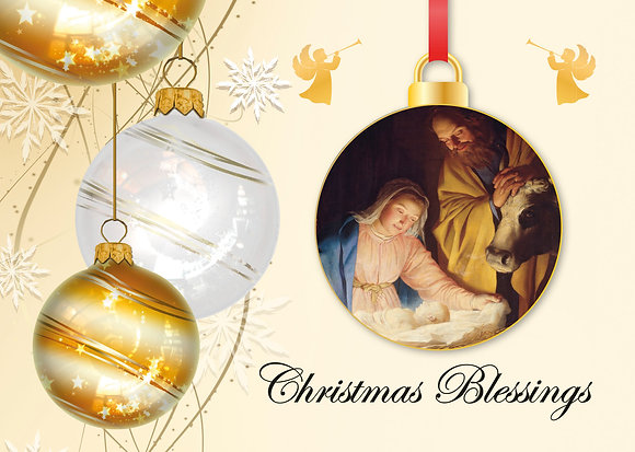 Christmas Blessings - Baubles