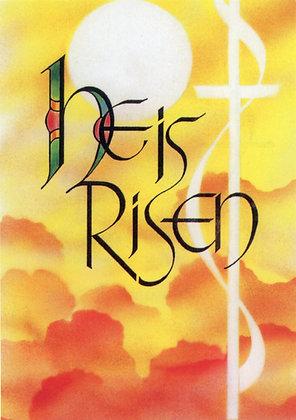 He is Risen EA3