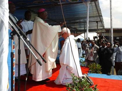 Ordination Of Bishop-Elect John Ryan in Malawi