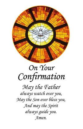 Confirmation Prayer Keepsake