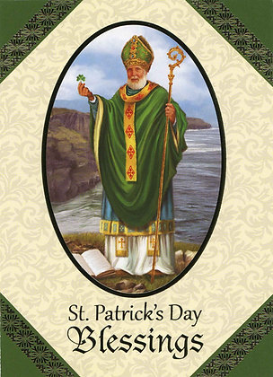 St Patrick's Day Blessings - With Novena SP-17A