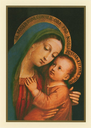 Christmas Greeting Card - With Novena CA16B