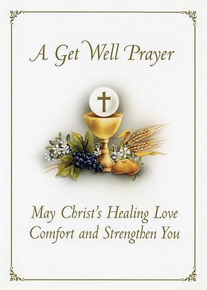 A Get Well Prayer - Chalice GW1
